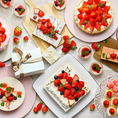 Sweets Buffet~Strawberry Gift Collection~(2018/3/1(木)~5/27(日))