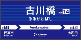 古川橋駅 電車・駅のご案内 京...